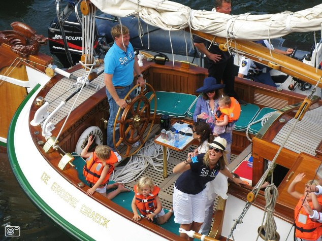 Koning Willem-Alexander opent Hiswa te water