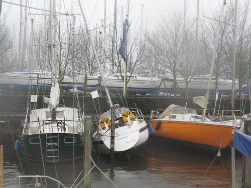 Stormvast de winter door Voorkom schade aan uw jacht