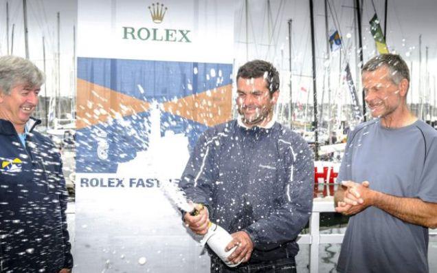 Vader en zoon winnen Fastnet Race 2013