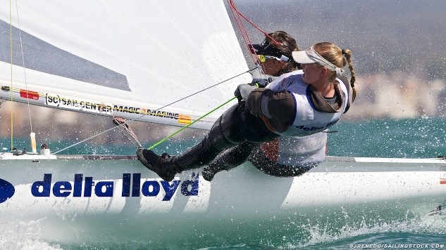 Wereldkampioenschappen 470 klasse La Rochelle
