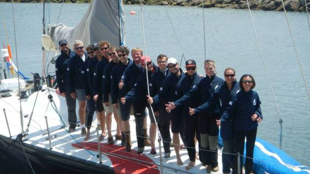Fastnet Race van start met Team Heiner