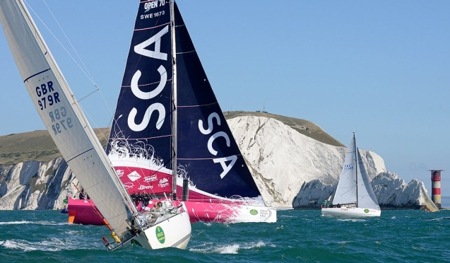 Team SCA aan kop in Fastnet Race