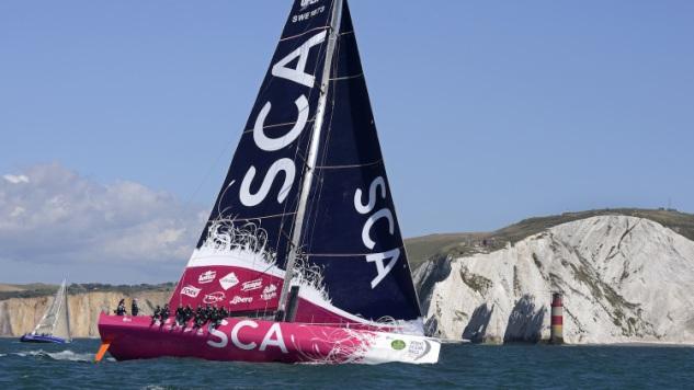 Team SCA in de Fastnet Race