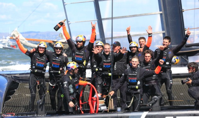 Oracle Team USA wint 34e America's Cup