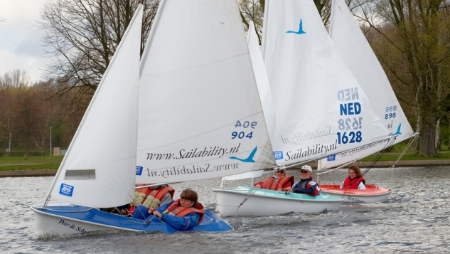 Stichting Sailability Nederland viert tienjarig bestaan