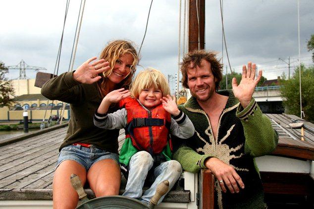 Vaarwel Nederland met zeilkotter Silverland (video)