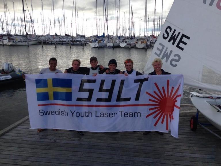 Zweedse Laser-zeilers steken Kattegat over