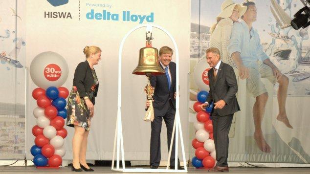 Koning Willem-Alexander opent HISWA te Water (video)