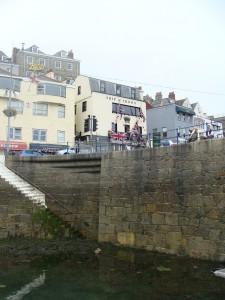 De haven van Guernsey