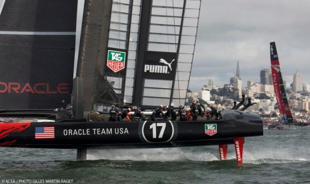 America's Cup:  Pechdag voor Emirates Team New Zealand