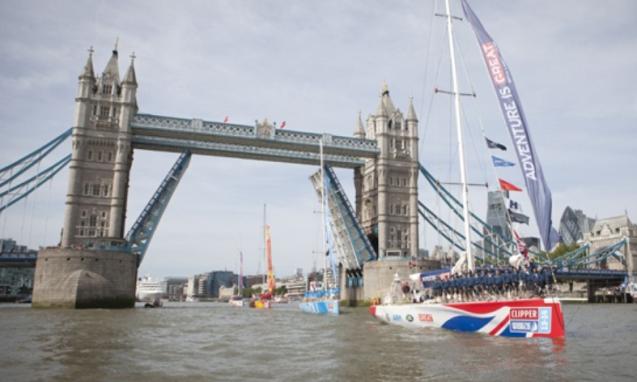 Clipperrace gestart in Londen