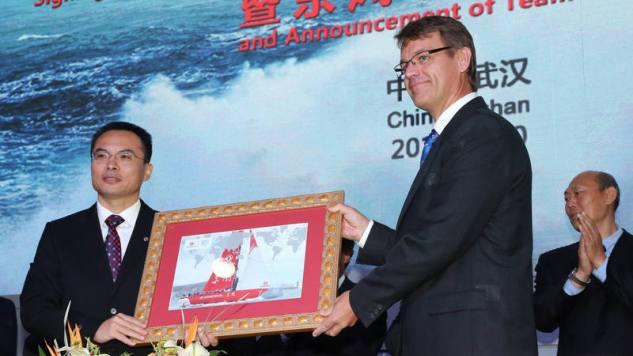 China neemt deel aan Volvo Ocean Race