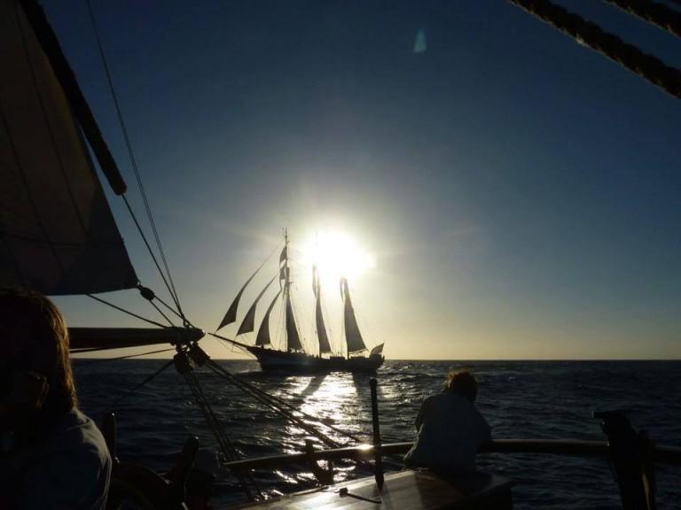 Nederlandse schepen bedwingen storm Kaap