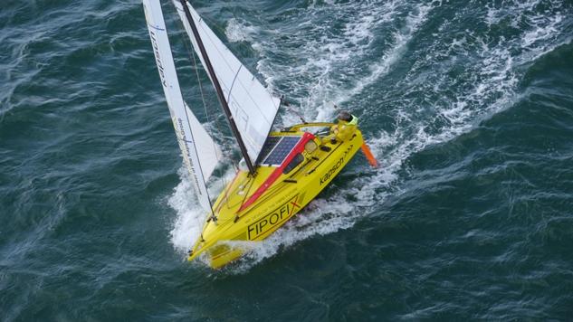 Nieuwe recordpoging in miniboot