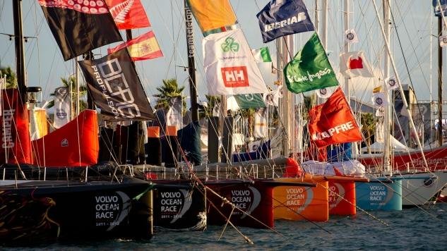 Stopover Volvo Ocean Race in Scheveningen