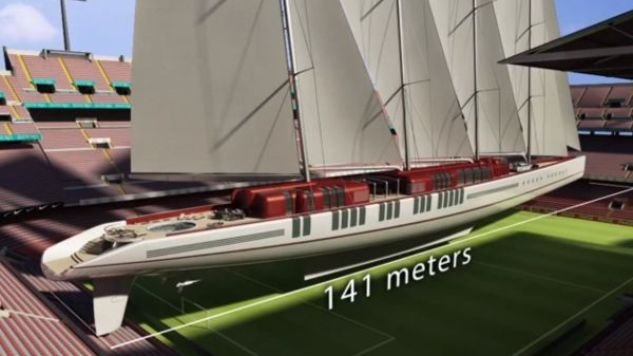 's Werelds grootste zeilschip in ontwikkeling