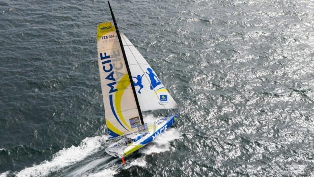 Koploper Transat Jacques Vabre verliest mast
