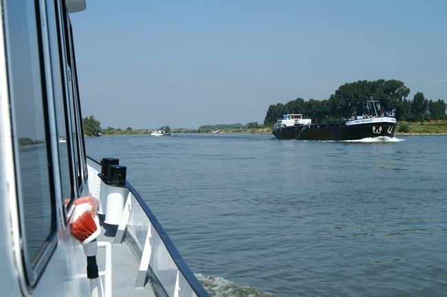 Varend genieten van de IJssel