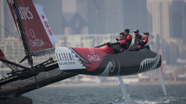 Emirates Team New Zealand naar Extreme Sailing Series