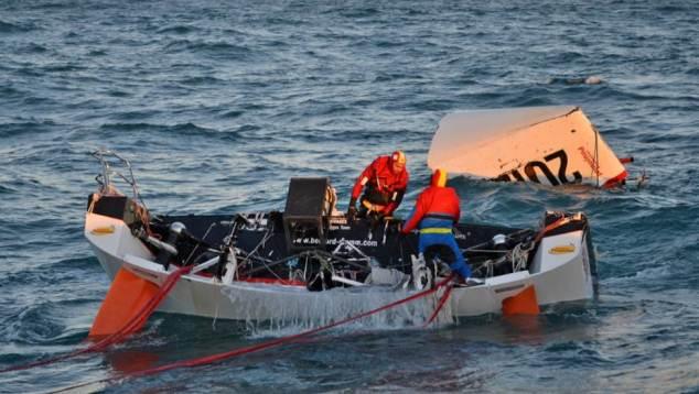 Oceaanzeiler Stamm vindt wrak boot terug