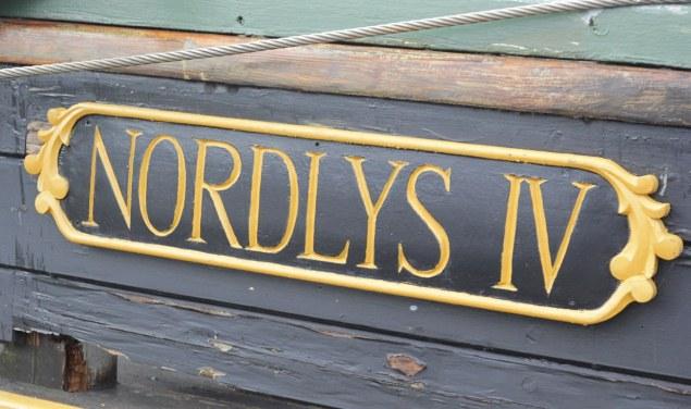 Succesvolle veiling zeilend vrachtschip Nordlys