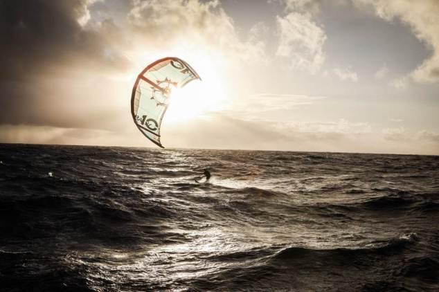 Atlantische kite-oversteek