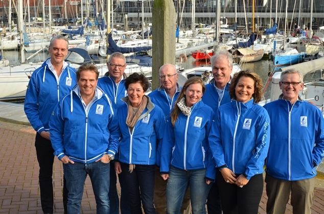 Nieuw bestuur North Sea Regatta