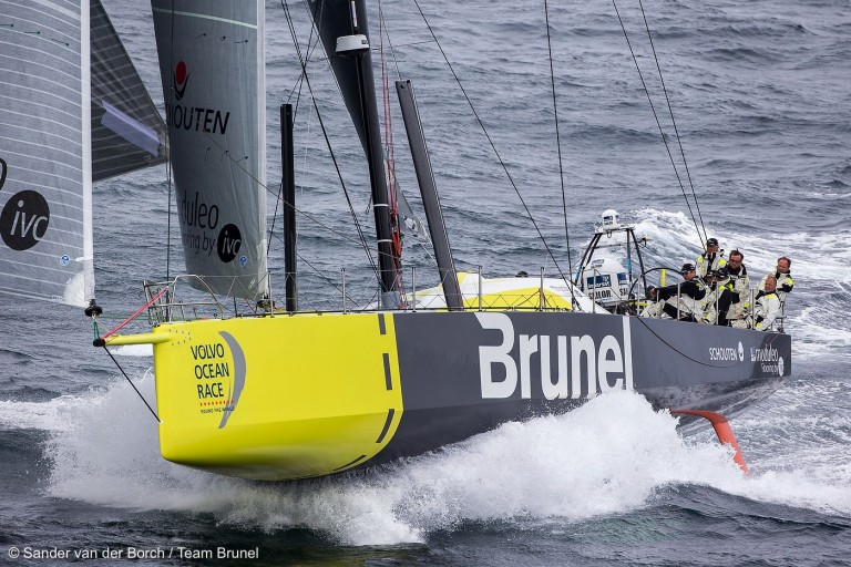 Fotoserie van training Team Brunel