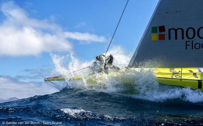 Brunel in voorbereiding op Volvo Ocean Race
