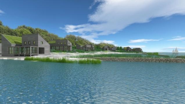 Bouw duurzame haven Brouwersdam