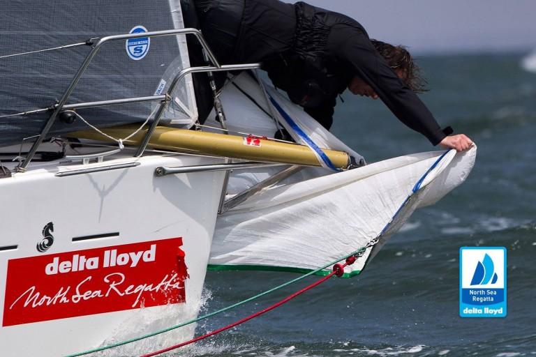 Team Brunel op North Sea Regatta