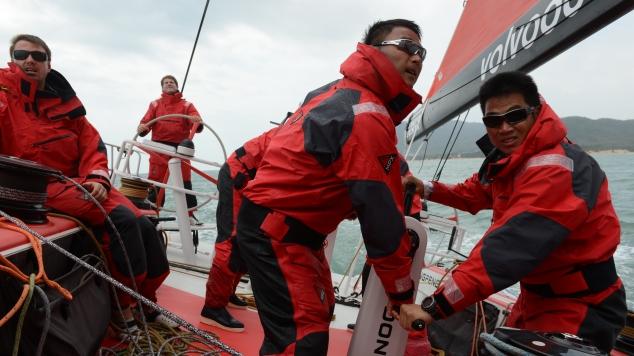 Eerste selectie Dongfeng voor offshore training