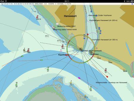 Nieuwe navigatie-applicatie