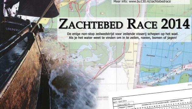 Zachtebedrace: 72 uur varen op het Wad