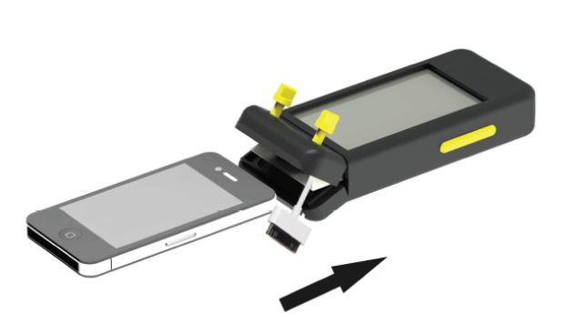 Smartphone en VHF ineen