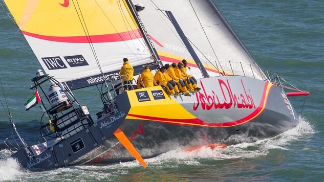 Abu Dhabi Ocean Racing test VO65