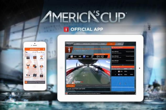 America's Cup wint Emmy Award