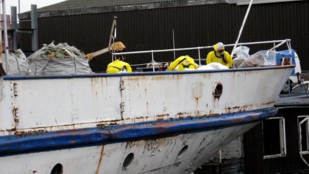 Geen asbestvrijverklaring voor boten
