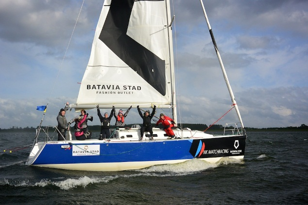 Team Zuiderbaan wint NK Match racing