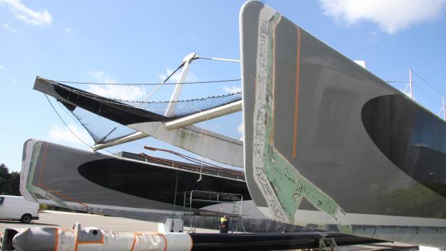 Maxi catamaran Orange krijgt nieuwe bestemming