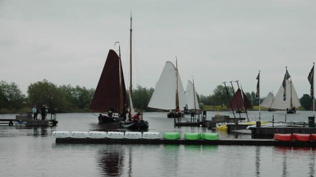 Historische vaartuigen strijden om Geuzenpenning