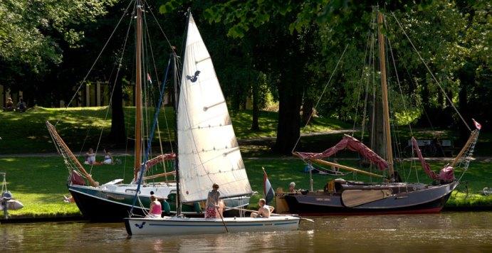 Brochure voor boottoerist Leeuwarden en Grou