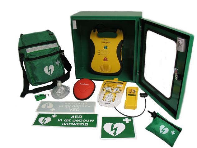 AED's aan boord van Beroepszeilvaart