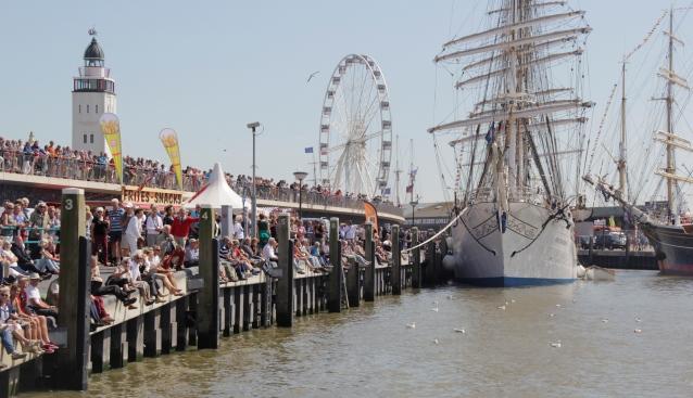 Eerste dag Sail Harlingen druk bezocht