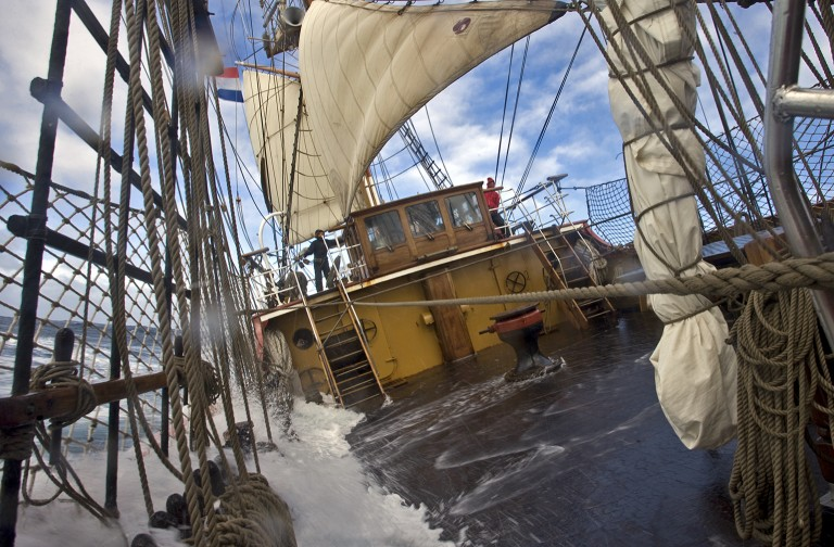 Onderscheiding voor bemanning Kaap Hoornronding