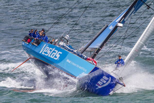 Vestas navigator Wouter Verbraak vol vertrouwen (video)