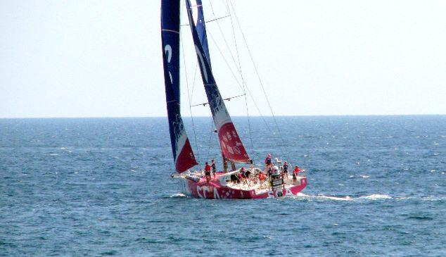 Carolijn Brouwer klaar voor start Volvo Ocean Race (video)