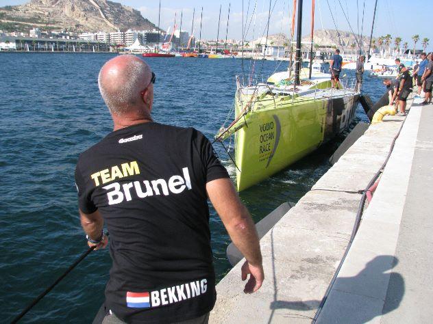 Bouwe Bekking klaar voor start Volvo Ocean Race (video)