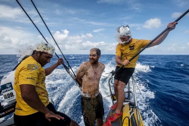 Neptunus brengt bezoek aan VOR-vloot