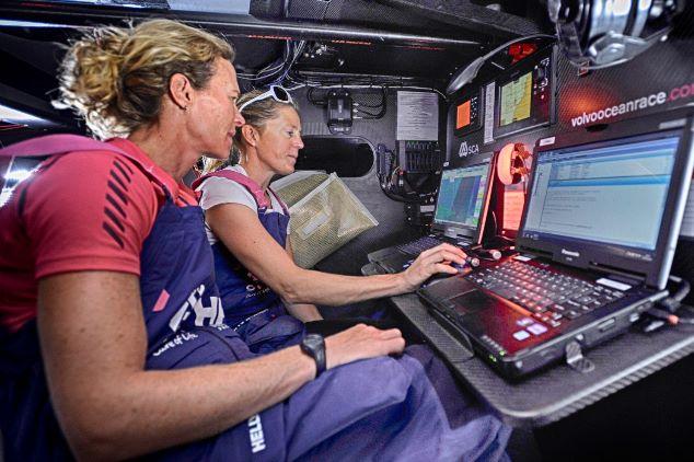 Carolijn Brouwer kijkt uit naar start Volvo Ocean Race